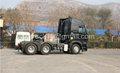 Howo 6x4 potência do trator reboque, agricultura trator com preço de fabricante