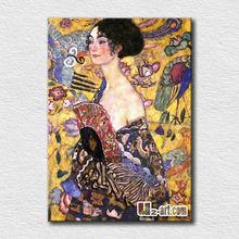 Oil painting on canvas Gustav Klimt paintings on the living room