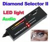 Fashion new Portable Diamond Selector II Gemstone Tester Tool