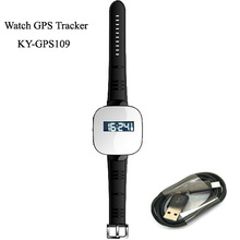 Mini bracelet Watch GPS Tracker for people tracking on smart phone and computer