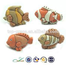Resin mini tropical fish souvenir ornament