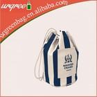 High Quality Cotton Canvas Gym Sack Drawstring Bag