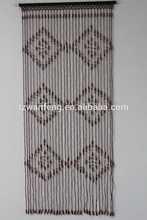 New Fashion Christmas Designs Wood Bead Curtain hook link door curtain