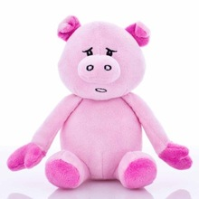 Lovely Pet ,Cuddly Pinky Pig , Plush Small animal Toy