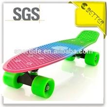 Rainbow customized 22 inch cruiser board new penny skate board
