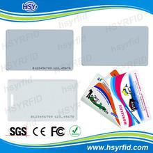 Free design printable 0.76 thickness PVC/ABS rfid em4100 125khz proximity card stock a lot