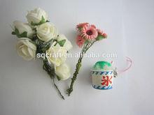 Rainbow Snow Cone Charm, Miniature Food Jewelry Pendant, Polymer Clay Food Charm