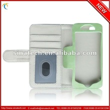 China supplier cases for apple iphone 5, wallet stylish with credit cars holder cases for iphone 5/5s