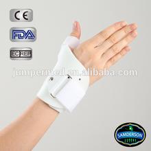 plastic hard wrist/thumb support