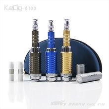 Kamry e-cig wax vaporizer mod k100, kecig k100 with k100 tank atomizer