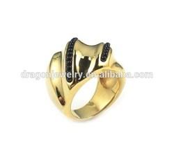 Classic design handheld best quality skull stainless steel ring