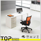 Office computer table front desk design wall file rack