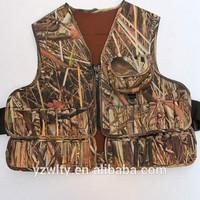 Good Quality Tactical Neoprene Camo Hunting fishing Vest