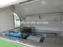 nuovo tipo strada ristorazione mobile rimorchi cucina carrelli da cucina mobile con ce approvare