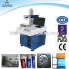 Metal photo printer 10W/20W/30W Fiber Laser marking/engraving machine China supplier factory price