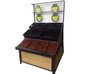 Classical design double side of supermarket fruit and vegetable storage rack