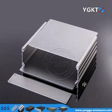 270*56*235 mm 10.6''x2.2''9.25'' (WxHxL ) beautiful Aluminum Instrument Enclosure