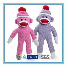 Custom sock monkey toy