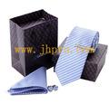 gravata de papel caixa de presente com saco de papel