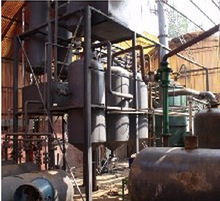 tyre oil to diesel extraction machine