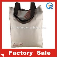 reusable cotton shopping bags/cotton canvas tote bag/blank cotton tote bags