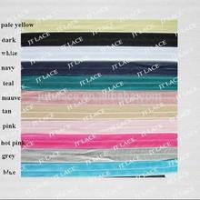 elastic, fold over elastic FOE , hair tie,hair band,headband wholesale
