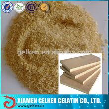Wood gelatin glue/ pork technical gelatin