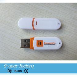 Sample style portable plastic bulk 1gb usb flash drives
