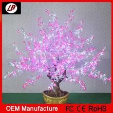2014 new design! energy saving1.5m simulation flashing bonsai led flower light