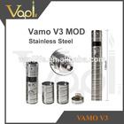 newest product electronic cigarette black chrome vamo v3 extension sleeve wholesale