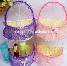 Elegant Wall Type Paper String Knitting Storage Box