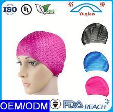 Personality Waterproof Cartoon Novelty Eco-friendly silicone swim cap oem/odm discount swimming cap