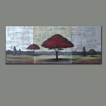 used household items for sale landscape oil painting
