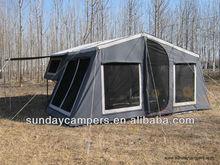 7x4 camper off road trailer tent