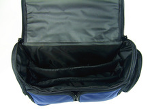 Wholesale duffel gym bag with Cell phone and bottle holder