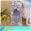 china wholesale diamond 3d mirror case for iphone 4