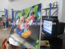 Digital UV wood printing service