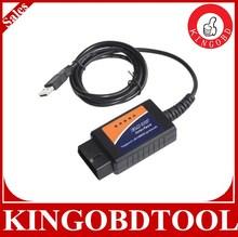 2014 Best Quality diagnostic tool interface elm327 usb obd2 scanner,elm327 obd ii usb car diagnostic tool,usb elm327 plastic