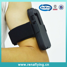 blank phone case armband hoslter combo case for MOTO G/xt 1032
