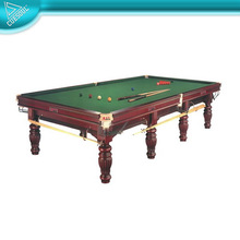 Solid Wood Slate Billiard Game Snooker Table
