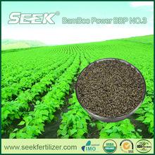 Bamboo Powder Organic fertilizer (SEEK BBP NO.3) with Natural component