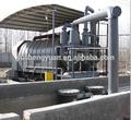 Recycler le plastique et des pneus à l'huile de pyrolyse machine