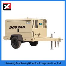High pressure 20bar diesel potable/mobile screw air compressor with high quality