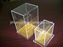 clear acrylic box/production show fair box