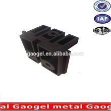 OEM wall auto galavnized i/ c/ y / h/ u structured steel /brass/aluminum metal hardware plastic bracket