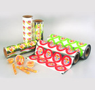 Pvc food packing with standing pouch