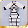 2014 newest OEM short sleeves cocktail dresses patterns bandage