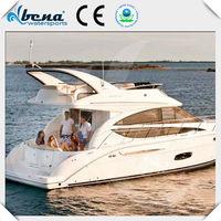 China leading PWC brand Bena mini steel trawler yacht for sale