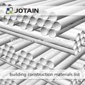 aço inoxidável baratos materiais usados na construção civil na china