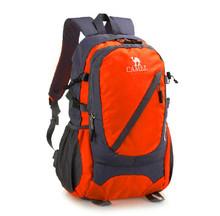 Unisex nylon waterproof travel hiking backpack bags